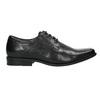 Black leather shoes bata, black , 824-6600 - 15