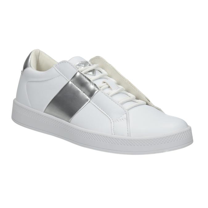 Ladies' White Sneakers, white , 501-1171 - 13