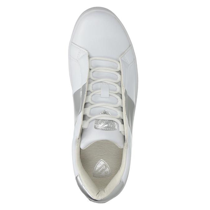 Ladies' White Sneakers atletico, white , 501-1171 - 15