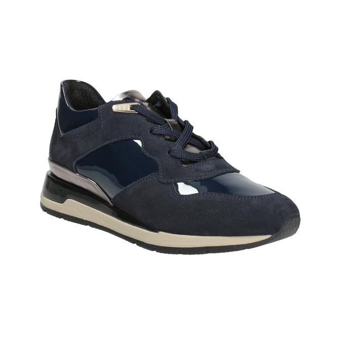 Blue Ladies' Sneakers geox, blue , 623-9042 - 13