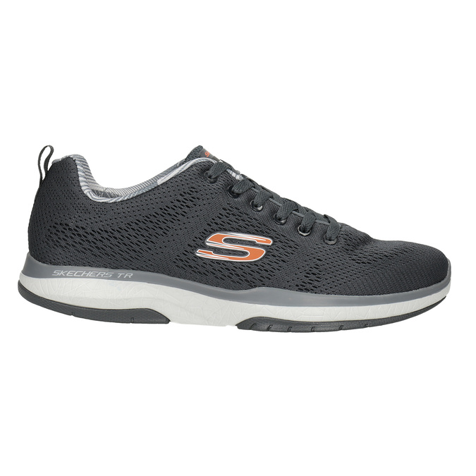 Grey Athletic Sneakers skechers, gray , 809-2330 - 26