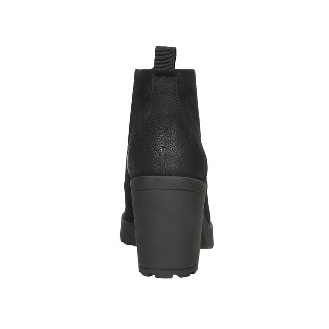 Ladies' High-Heeled Ankle Boots vagabond, black , 726-6016 - 16
