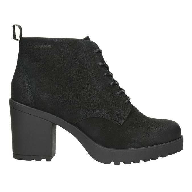 Ladies' High-Heeled Ankle Boots vagabond, black , 726-6016 - 26