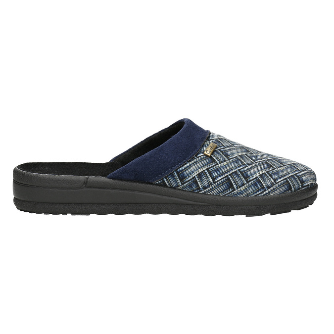 Men's Slippers bata, blue , 879-9611 - 15