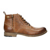 Brown Leather Ankle Boots bata, brown , 896-3684 - 15