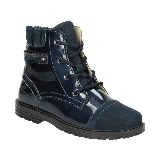 Children's Leather Ankle Boots primigi, blue , 228-9001 - 13