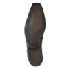 Men's patent leather shoes bata, black , 821-6601 - 17