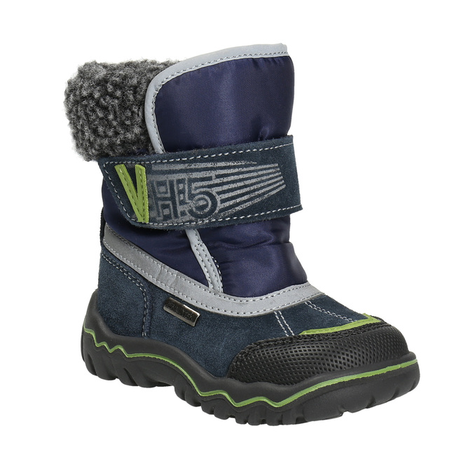 Children's Winter Boots bubblegummer, blue , 193-9601 - 13