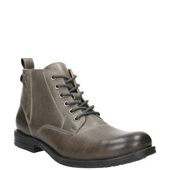 Men's Ombré Ankle Boots bata, gray , 896-2684 - 13