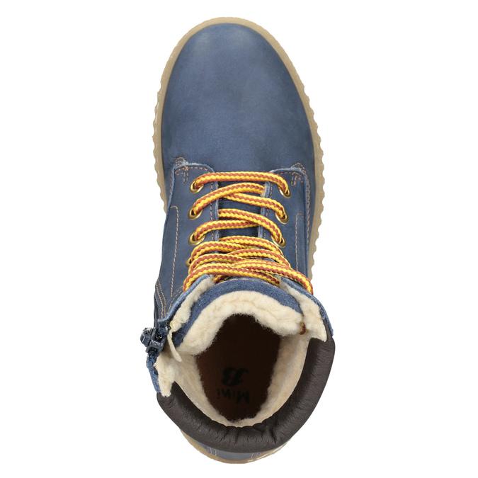 Children's Insulated Winter Boots mini-b, blue , 496-9620 - 15