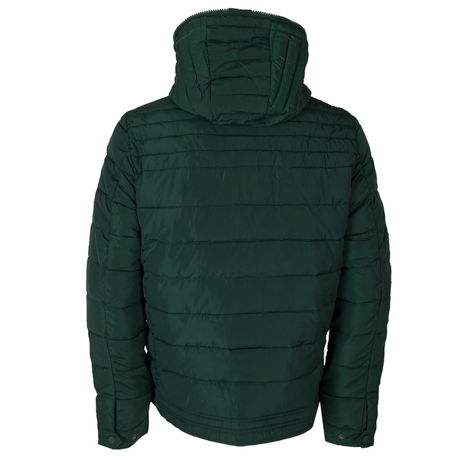Men's Green Hooded Jacket bata, green, 979-7130 - 26
