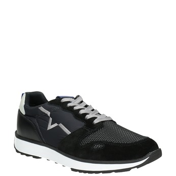 Men's casual sneakers diesel, black , 809-6638 - 13