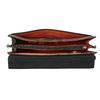Black Leather Handbag picard, black , 966-6050 - 15