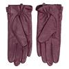 Ladies' leather gloves, violet , 904-0109 - 16