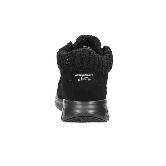 Ladies' ankle boots skechers, black , 501-6314 - 15