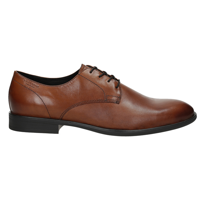 Men's leather shoes vagabond, brown , 824-3026 - 16