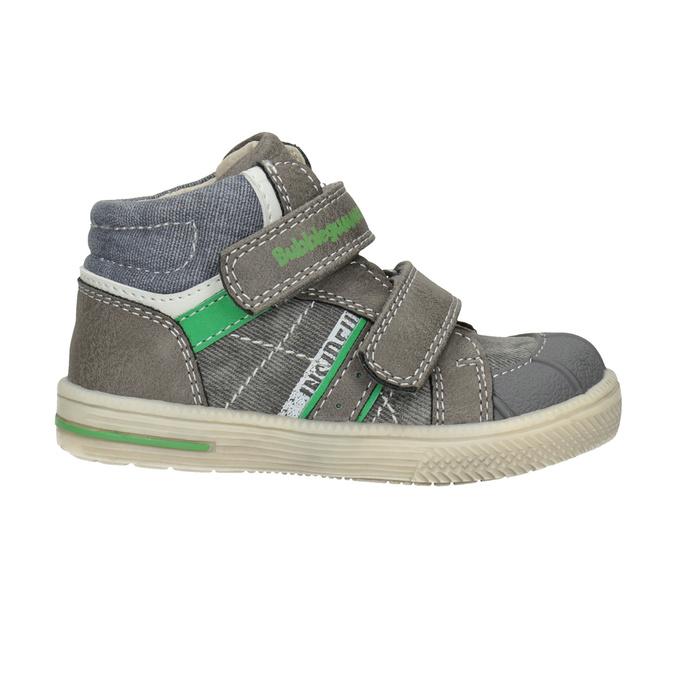Kids' ankle boots bubblegummer, gray , 111-2614 - 26