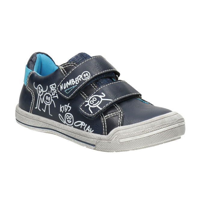 Kids' casual sneakers mini-b, blue , 211-9217 - 13