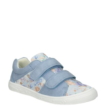 Kids' blue sneakers with a pattern mini-b, 221-9215 - 13