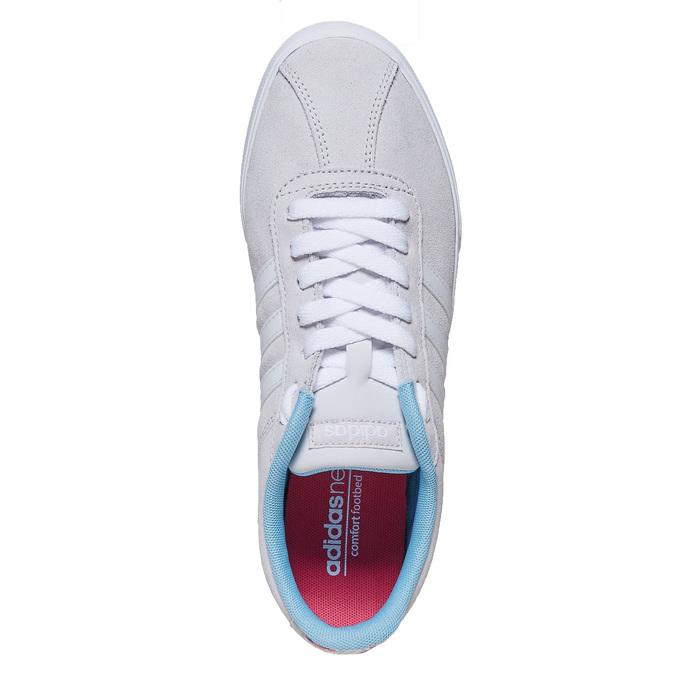 Ladies' grey sneakers adidas, gray , 501-2229 - 19