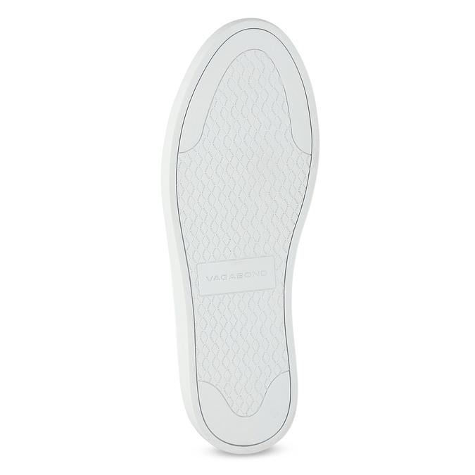White leather sneakers vagabond, white , 624-1019 - 18