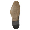 Men's Derby Shoes with Broguing bata, brown , 823-8616 - 18