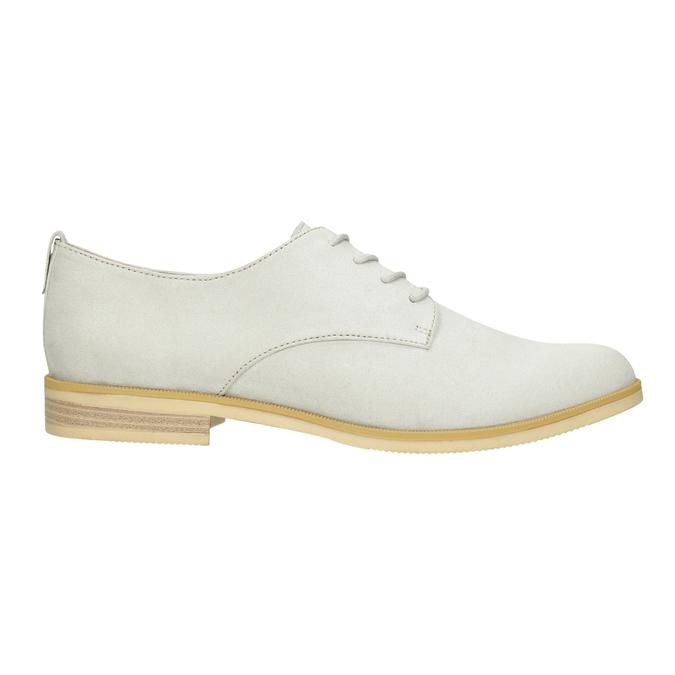 Ladies' casual shoes bata, gray , 529-1636 - 26