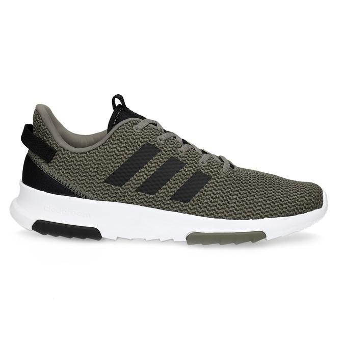 Sneakers in a sport design adidas, khaki, 809-7201 - 19