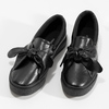 Slip-Ons with Bow north-star, black , 511-6606 - 16
