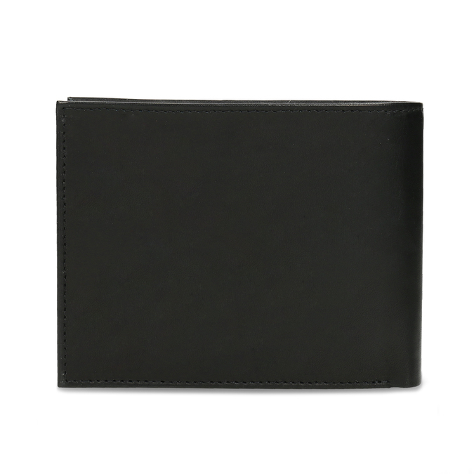 Men's leather wallet bata, black , 944-6171 - 16